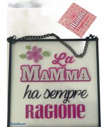 DECORAZIONE  FESTA DELLA MAMMA