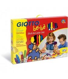 GIOTTO BEBE' STICK E COLOR SET