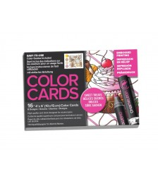 COLOR CARDS SWEET TRATS