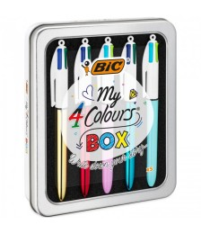 BOX PENNE BIC MY COLOURS